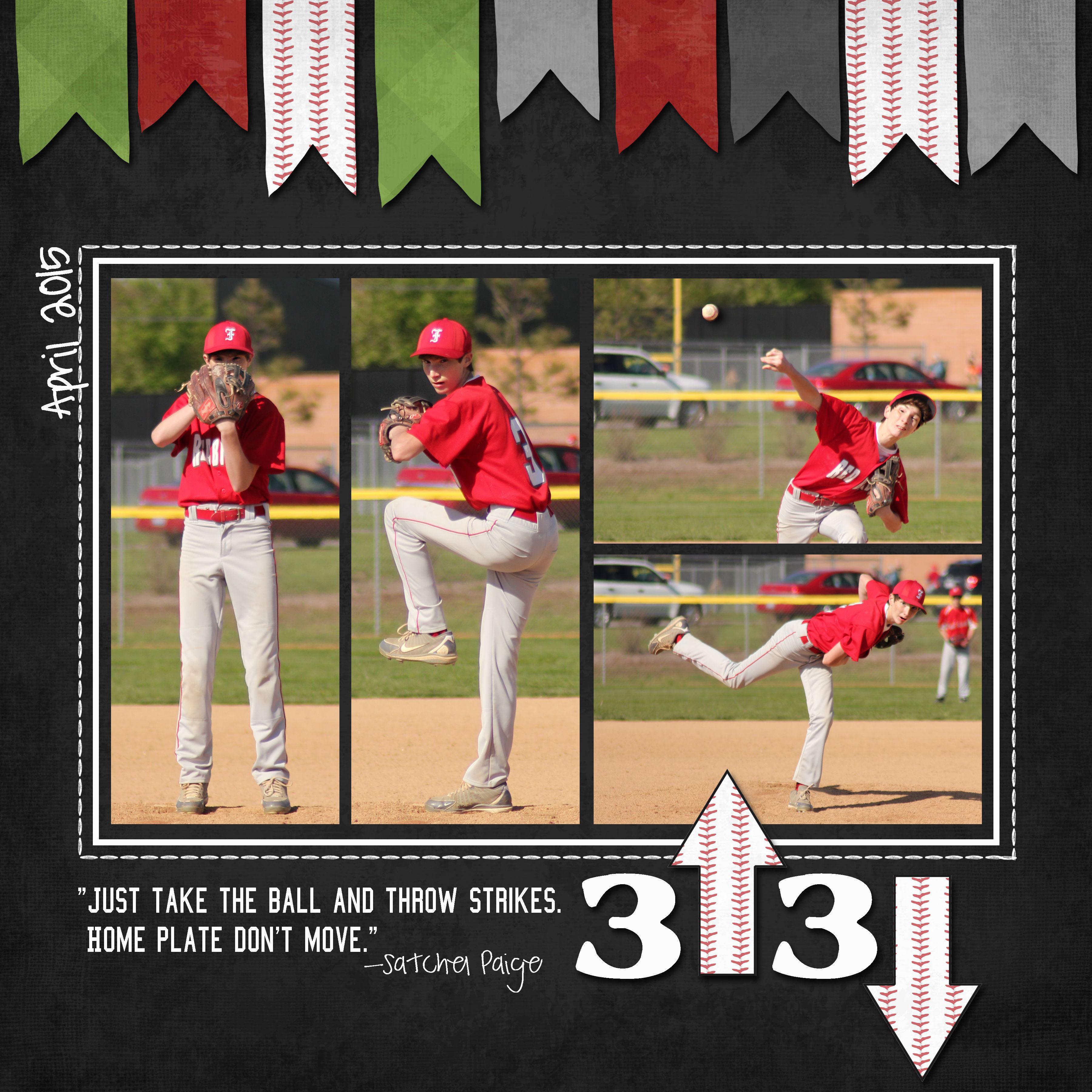 Freshman Baseball 2015 Page 2 Scrapbook Baseball Cards Freshman