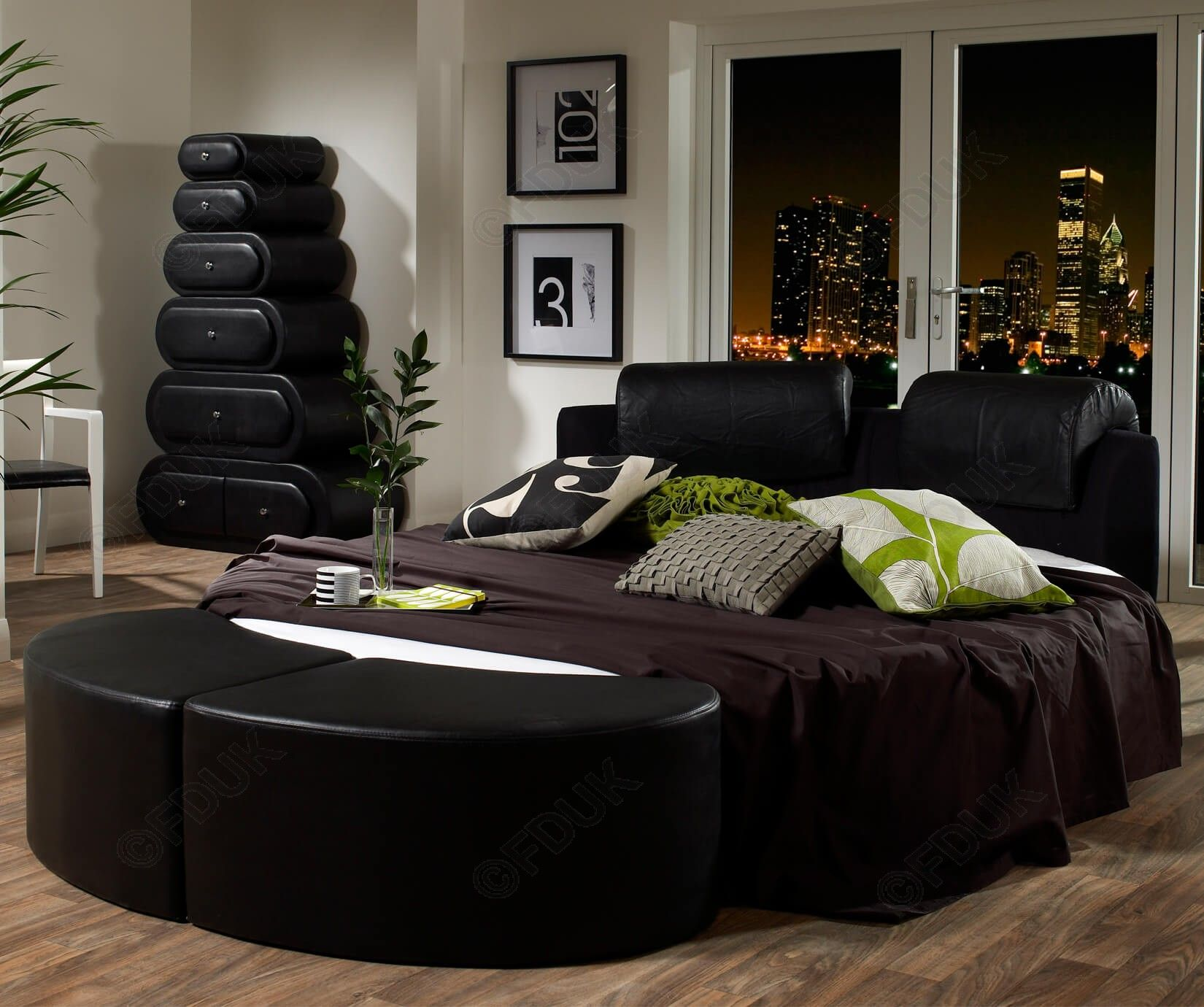 Best Fd Essential Trend Round Bed Frame Only £1 189 99 400 x 300