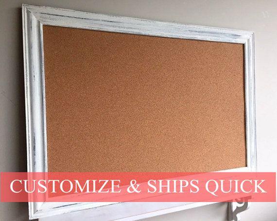 Rustic Kitchen Wall Decor Framed Cork Board By Shugabeelane Brick Wall Decor Grey Wall Decor Wrought Iron Wall Decor