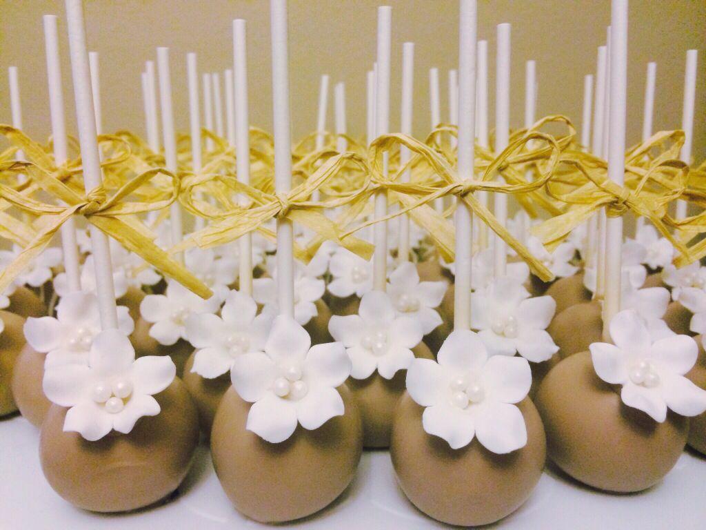 Rustic Themed Cake Pops for a Bridal Shower or Wedding | Krafty ...