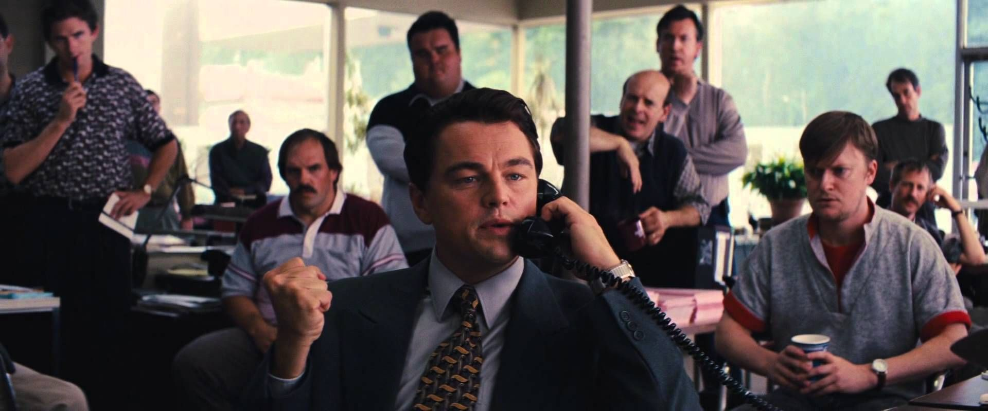 Jordans first phone call at the investors centre the