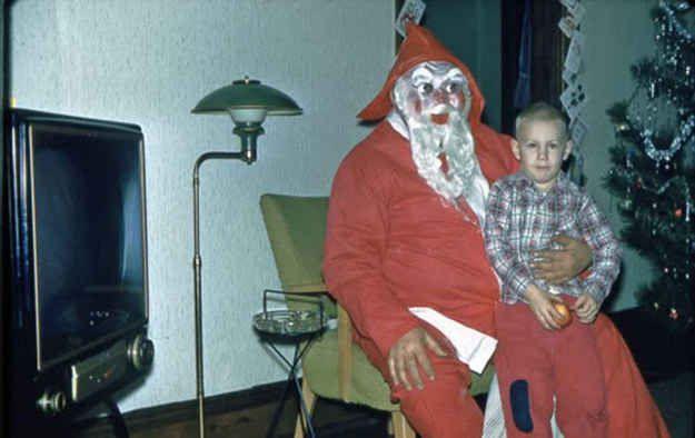 Este Noel que parece un enano de jardín malvado que cobró vida :