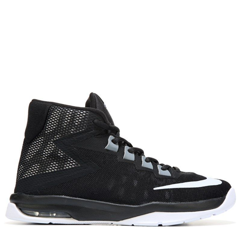 d4289daa63c3 Nike Kids  Air Devosion Basketball Shoe Grade School Shoes (Black Cool  Grey Whit) - 5.0 M