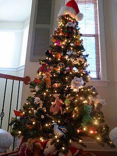 Beanie Baby Christmas Tree  81c3ff66ad67