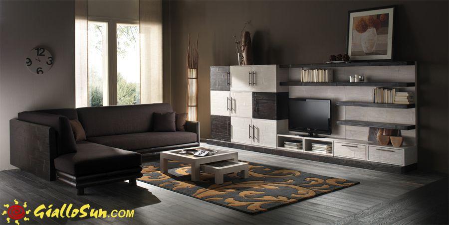 Arredamento esotico ~ Stunning soggiorno etnico gallery idee arredamento casa baoliao