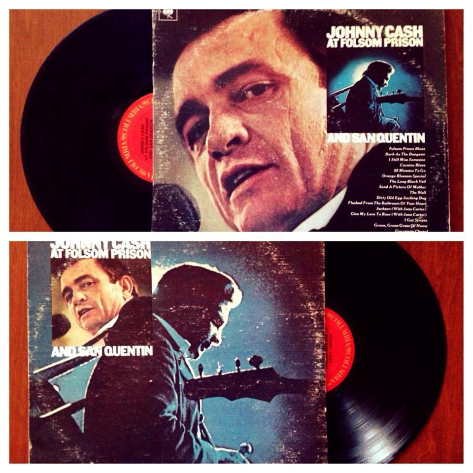 Johnny Cash Live At Folsom Prison And San Quentin 1974 Johnny Cash Live