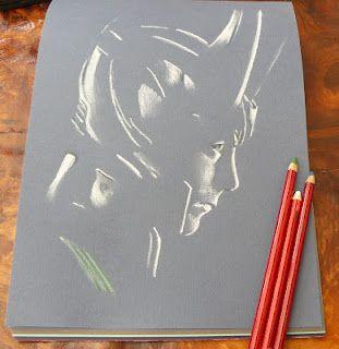 Pastel drawing of Tom Hiddleston as Loki Laufeyson