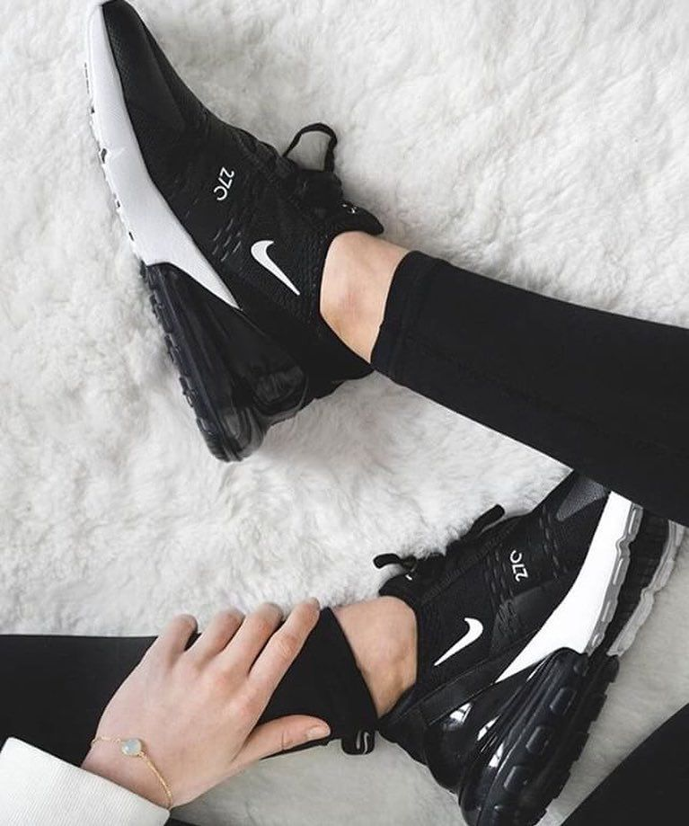 official supplier official photos high fashion Nike Air Max 270 – Black / Anthracite / White | Black nike ...