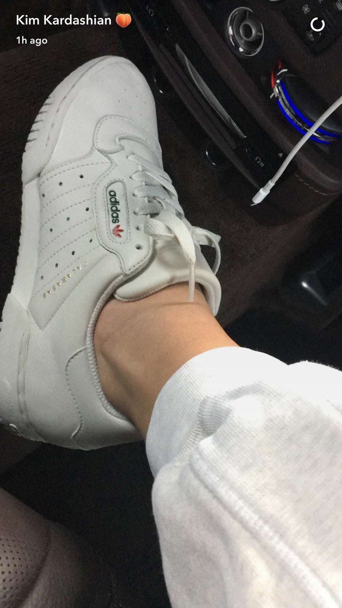 ca8e3630121 The Adidas Yeezy Calabasas Powerhouse. Photo   KimKardashian Snapchat