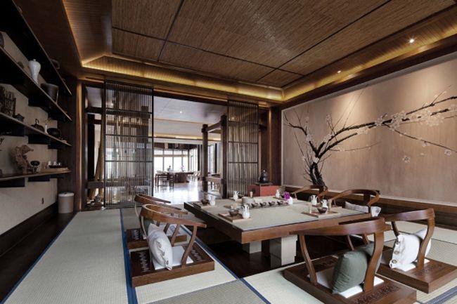 禅意盈满室 依旧东方情 Chinese Tea House Chinese Interior