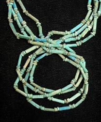 Necklace Of Egyptian Faience Beads - FJ.1091 For Sale | Antiques.com | Classifieds