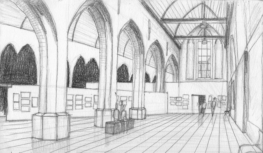 Architecture Drawing Pencil pencil drawings - marie-laure pacquet architecture | dab103