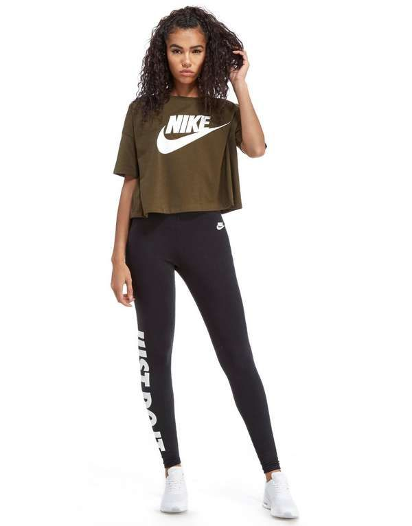 Nike Signal Crop T-Shirt | moda en 2019 | Adidas vetement ...