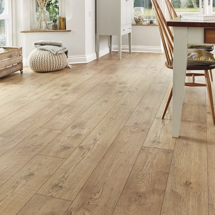 Professional v groove Tawny Chestnut laminate flooring | Hometown ...