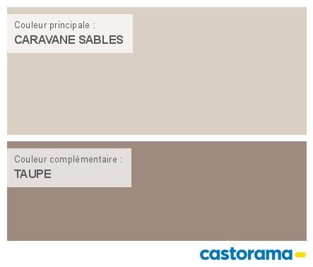 Castorama Nuancier Peinture  Mon Harmonie Peinture Caravane Sables