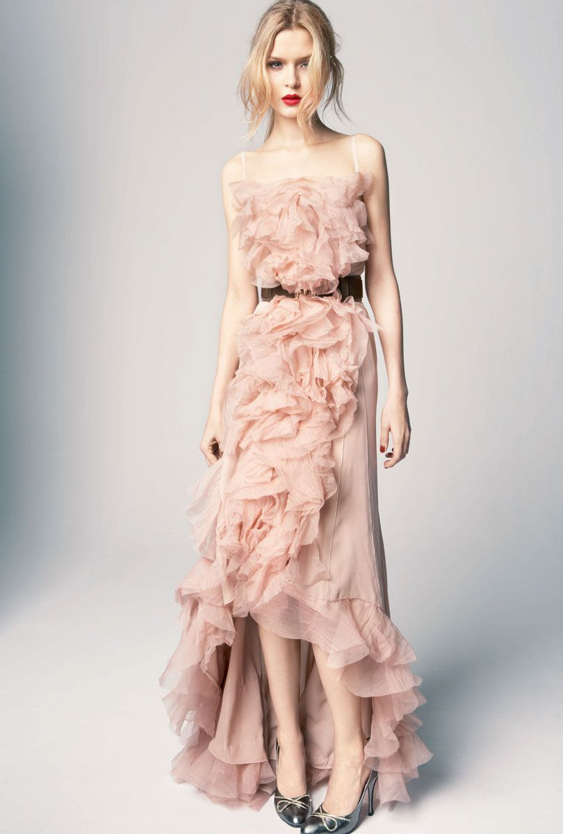 Nina Ricci Pre-Fall 2012 in Blush   Black 54b079879