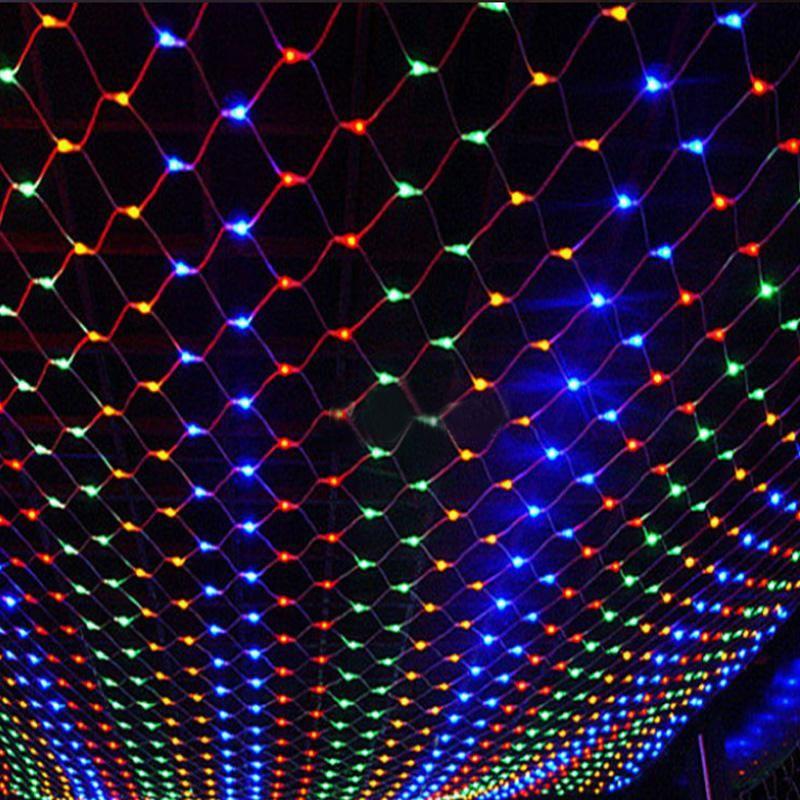 32m 200leds eu plug wedding party decoration led net string lights 32m 200leds eu plug wedding party decoration led net string lights multi color 8 aloadofball Image collections