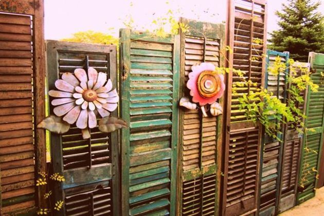 Cool Privacy Fence Wooden Design for Backyard 45 in 2020