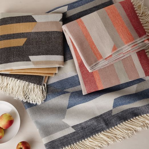 West Elm Throw Blanket Interesting Geo Jacquard Throw  West Elm  Around The House  Pinterest  Geo Decorating Inspiration