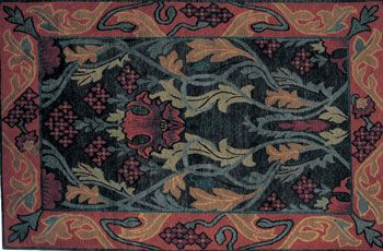 William Morris Rug Hooking Patterns