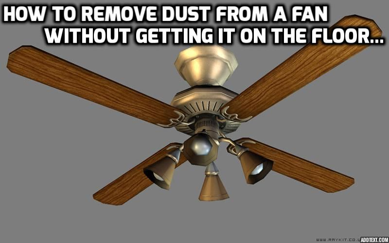 How To Remove Ceiling Fan Blades For Cleaning Www