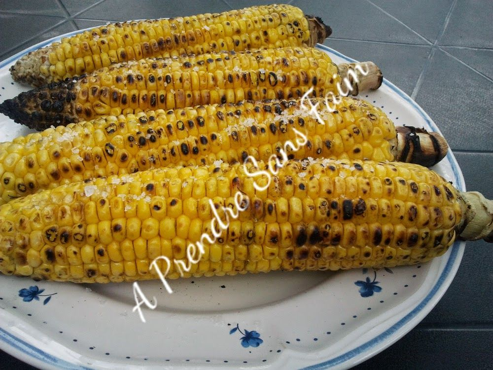 A Prendre Sans Faim: Maïs grillés au barbecue http://www.aprendresansfaim.com/2014/08/mais-grilles-au-barbecue.html