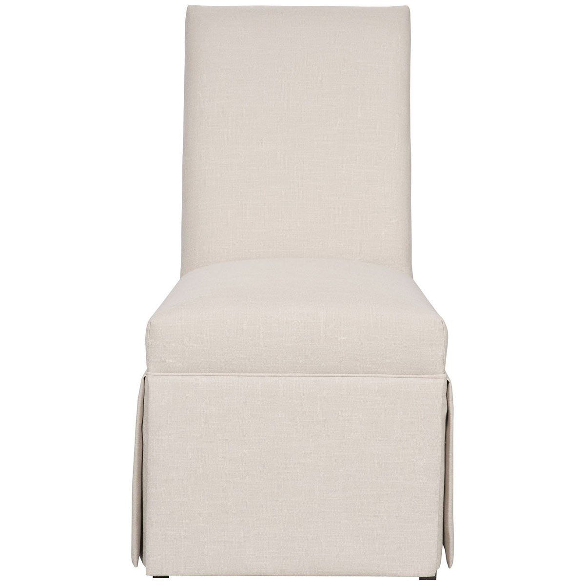 Vanguard Furniture Novella Pumice Butler Skirted Side Chair  # Muebles Mauro Capital