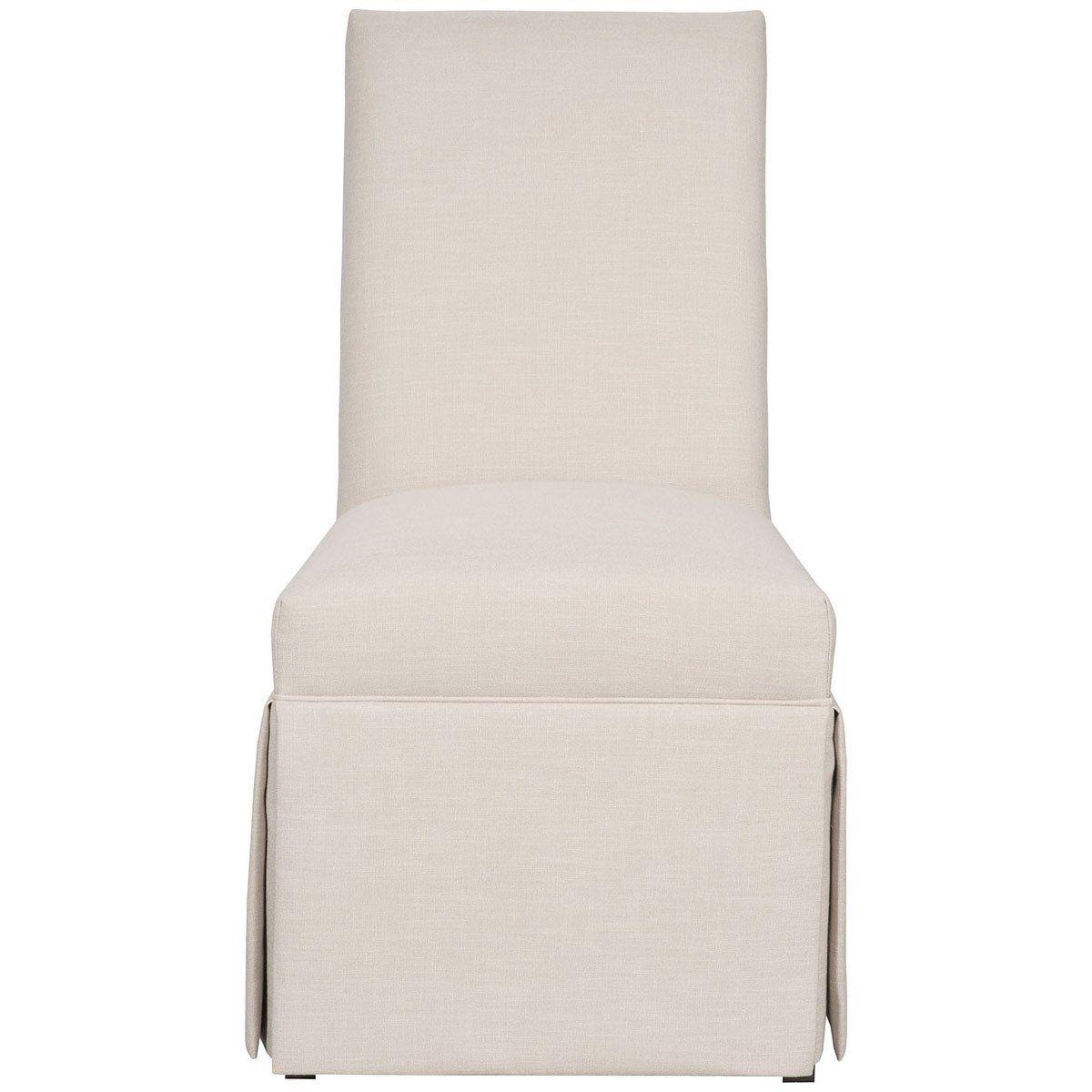 Vanguard Furniture Novella Pumice Butler Skirted Side Chair  # Muebles Novella