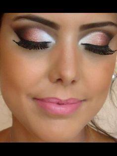 Sweet 16 Makeup Peach Eye Makeup Eye Makeup Artistry Makeup
