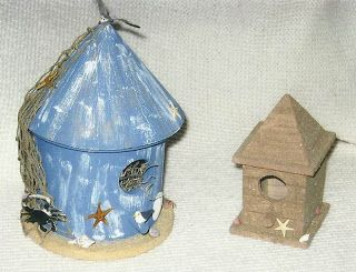 Whimsical Birdhouses by LaVerne: Beach/Tropical