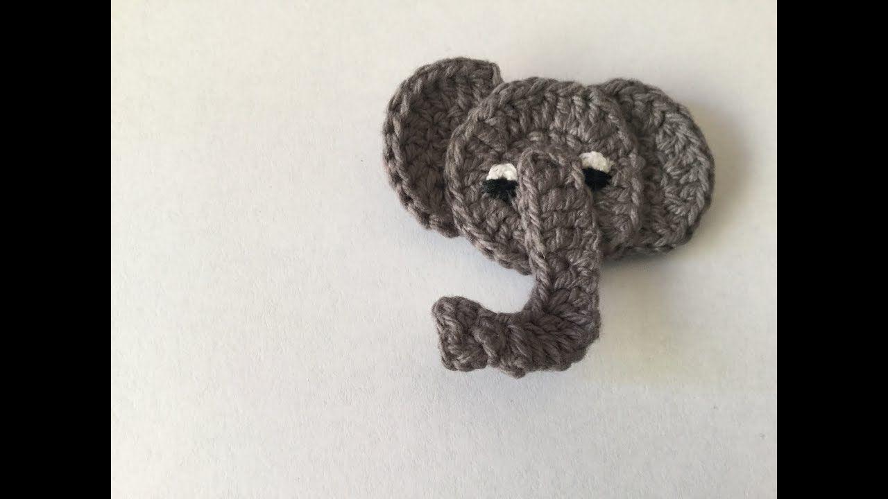 How to crochet an Elephant (Train series Part 3) | crochet | Pinterest