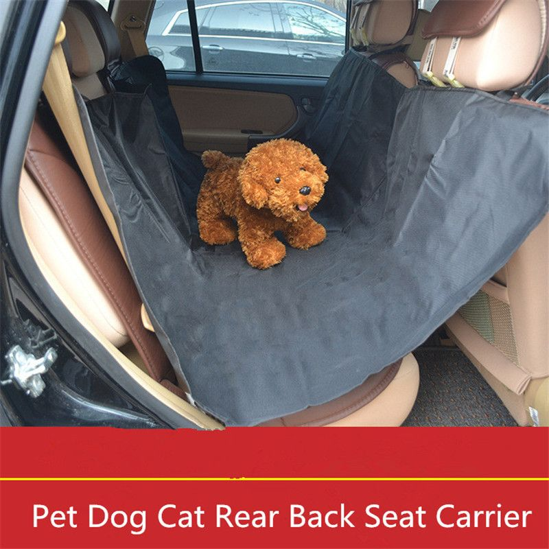 Pet Dog Rear Back Car Seat Cover Protector Mat Waterproof Cushion Travel Blanket