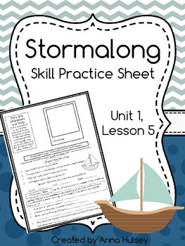 Me and uncle romie skill practice sheet homework sheet skill practice or homework sheet for journeys fourth grade stormalong unit 1 fandeluxe Gallery