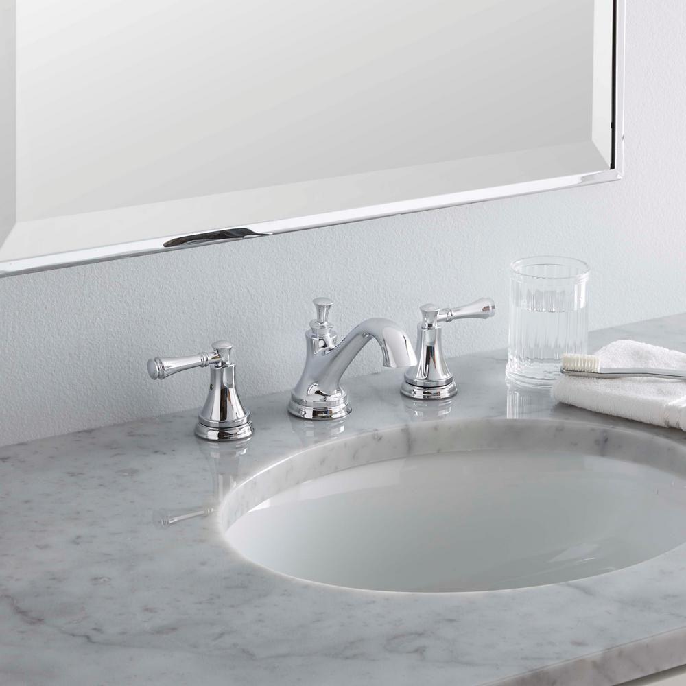 Delta Silverton 8 In Widespread 2 Handle Bathroom Faucet In Chrome 35713lf Eco High Arc Bathroom Faucet Bathroom Faucets Chrome Chrome Bathroom Fixtures