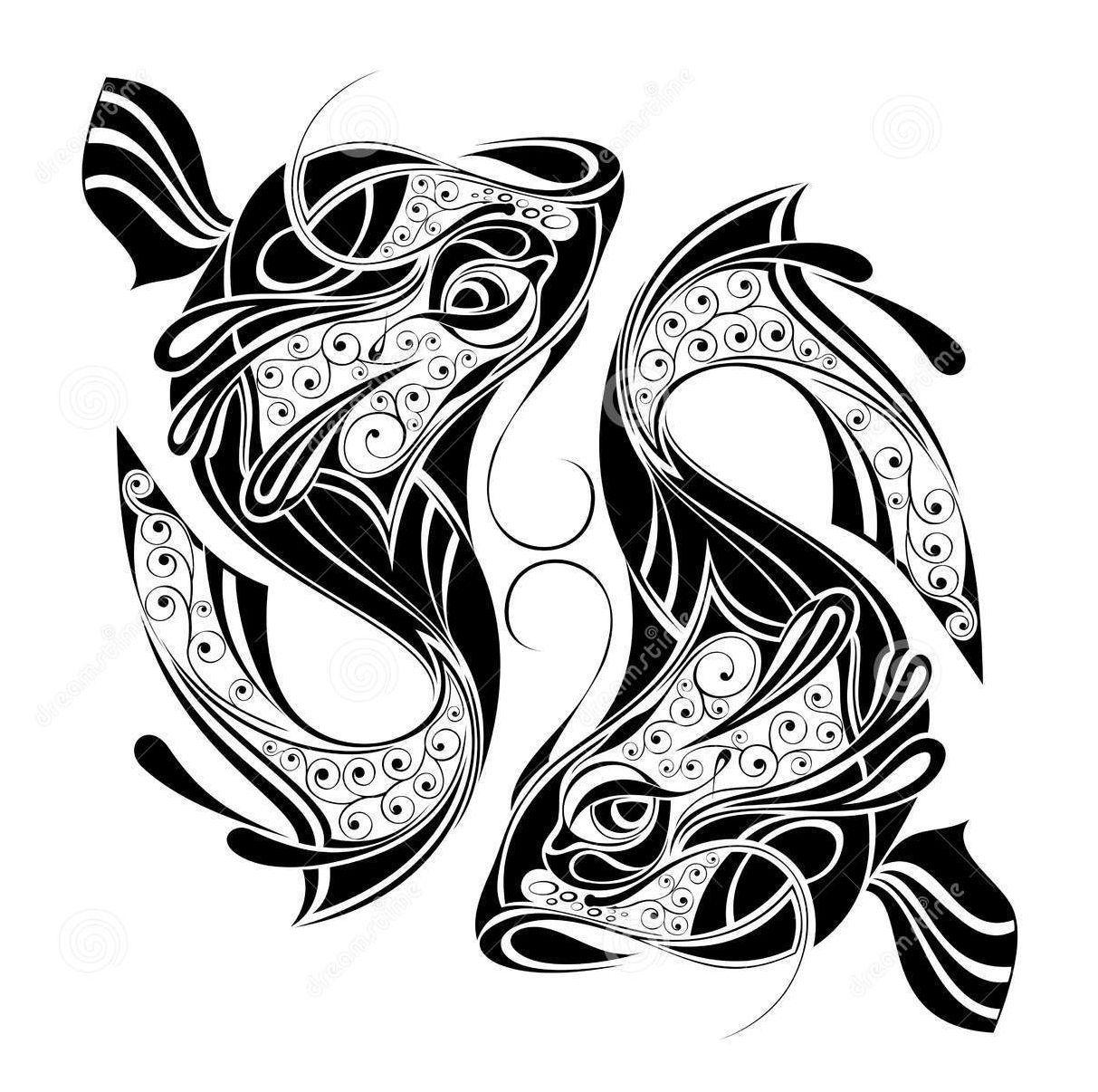 Displaying 19 Gt Images For Aquarius Animal Symbol Gemini Tattoo Gemini Zodiac Tattoos Pisces Tattoo Designs