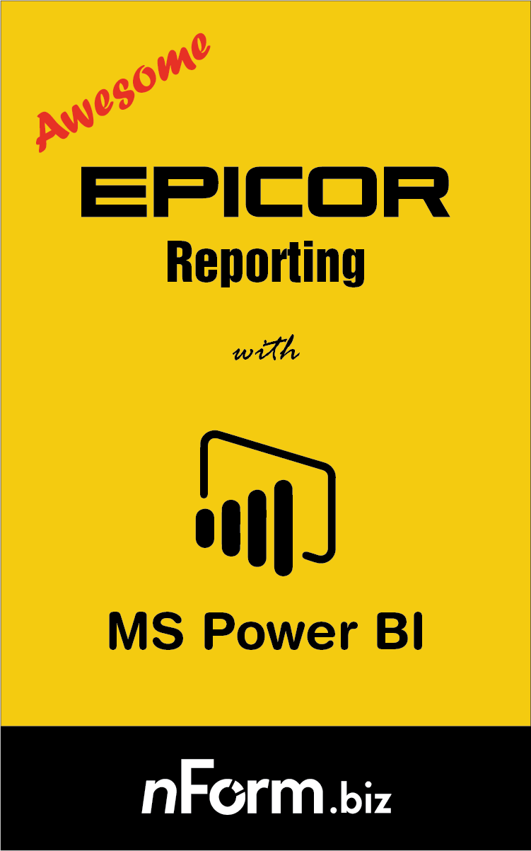 Awesome Epicor Reports in Power BI - a detailed article which looks