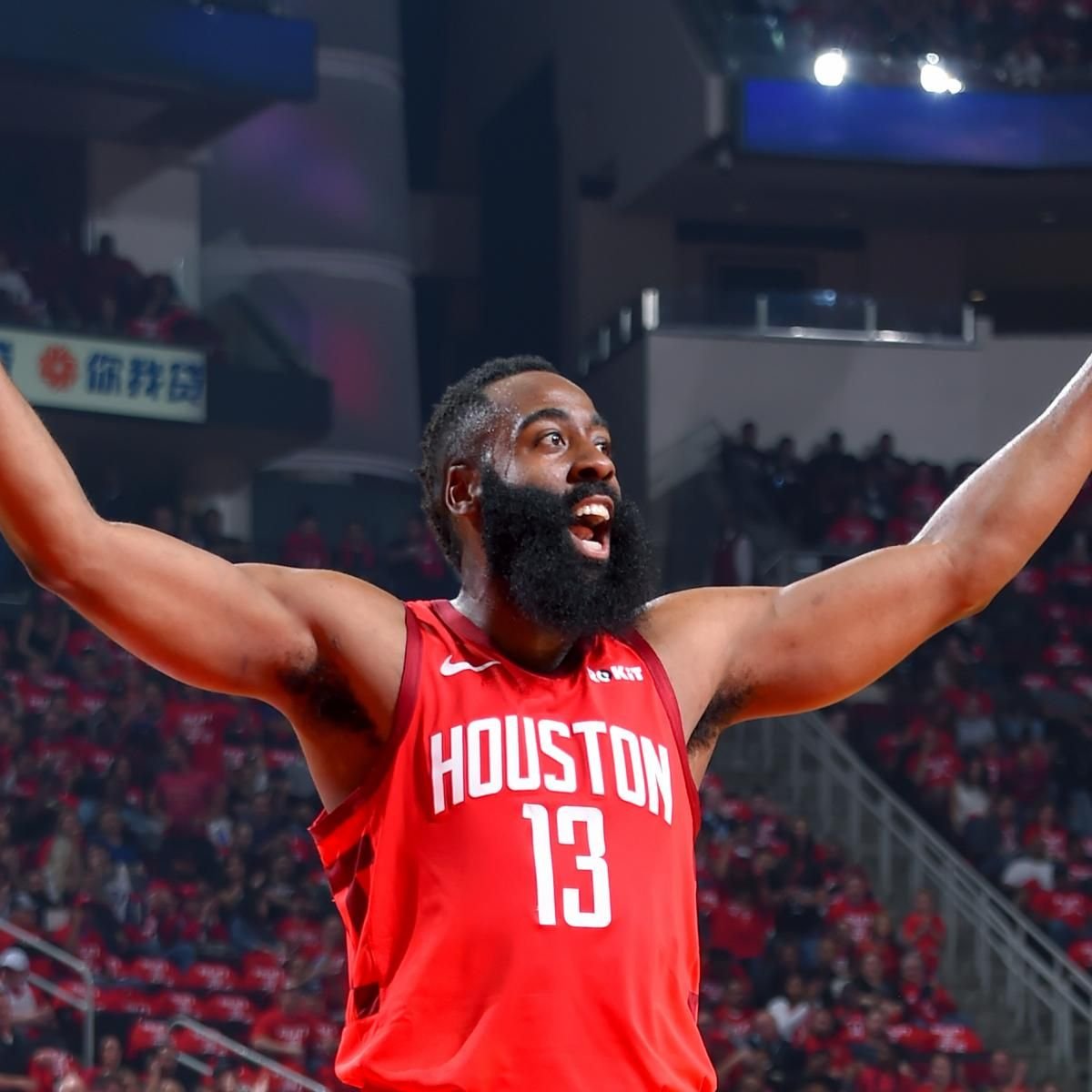 NBA Power Rankings James Harden, Houston Rockets Blasting