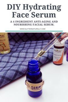 Hydrating Homemade Face Serum For Winters - Glitter Naturally