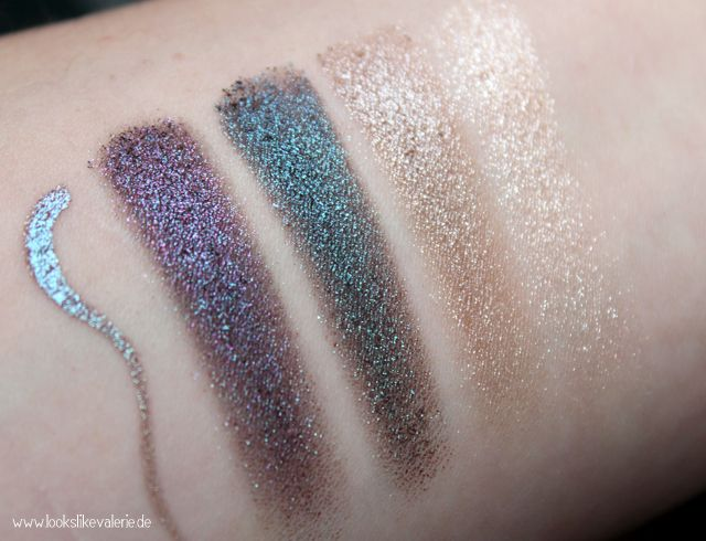 Catrice Feathered eyeshadows and an eyeliner