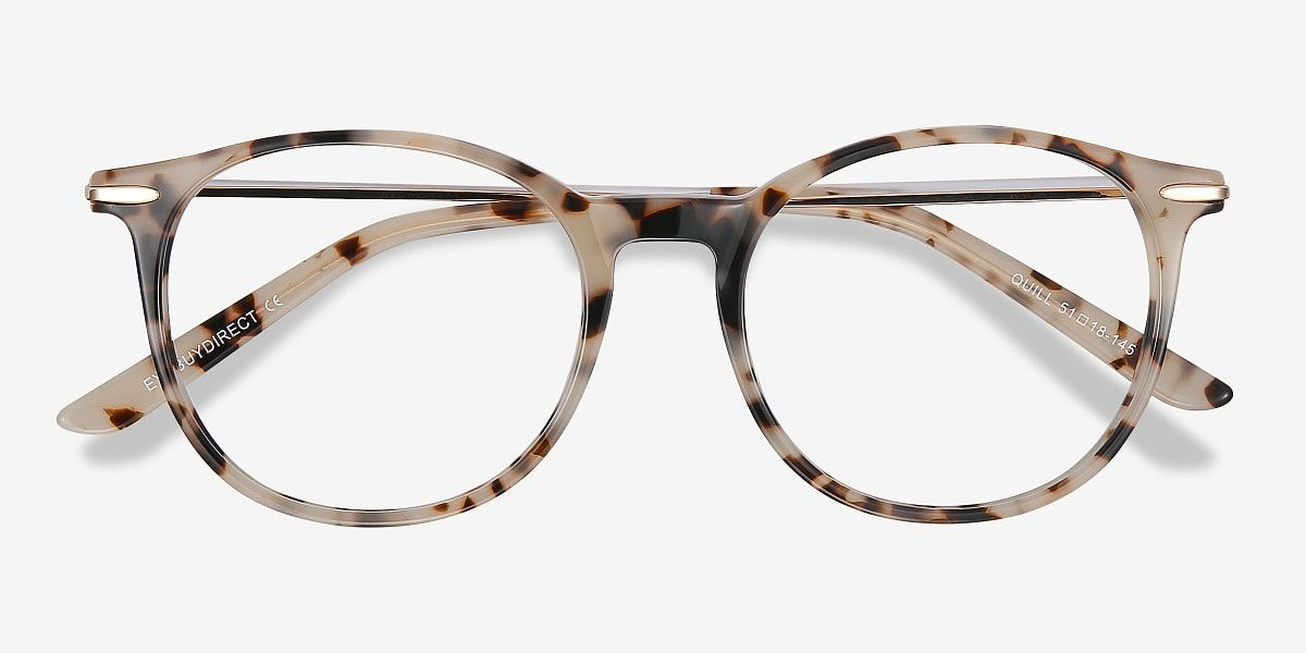 Photo of Quill – Round Red Frame Glasses For Women   EyeBuyDirect