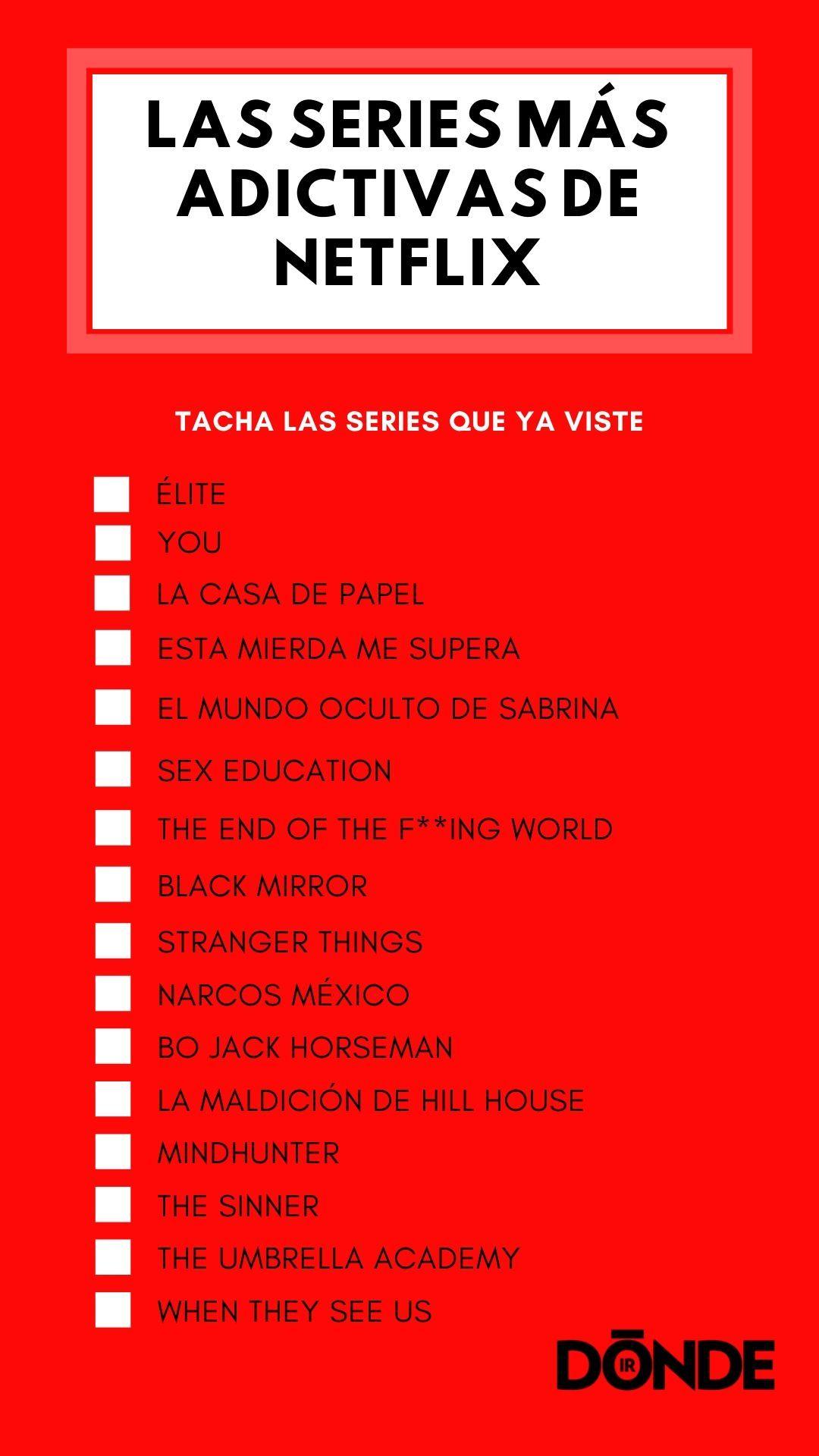 Las 16 Series Mas Adictivas De Netflix Las Veras En Un