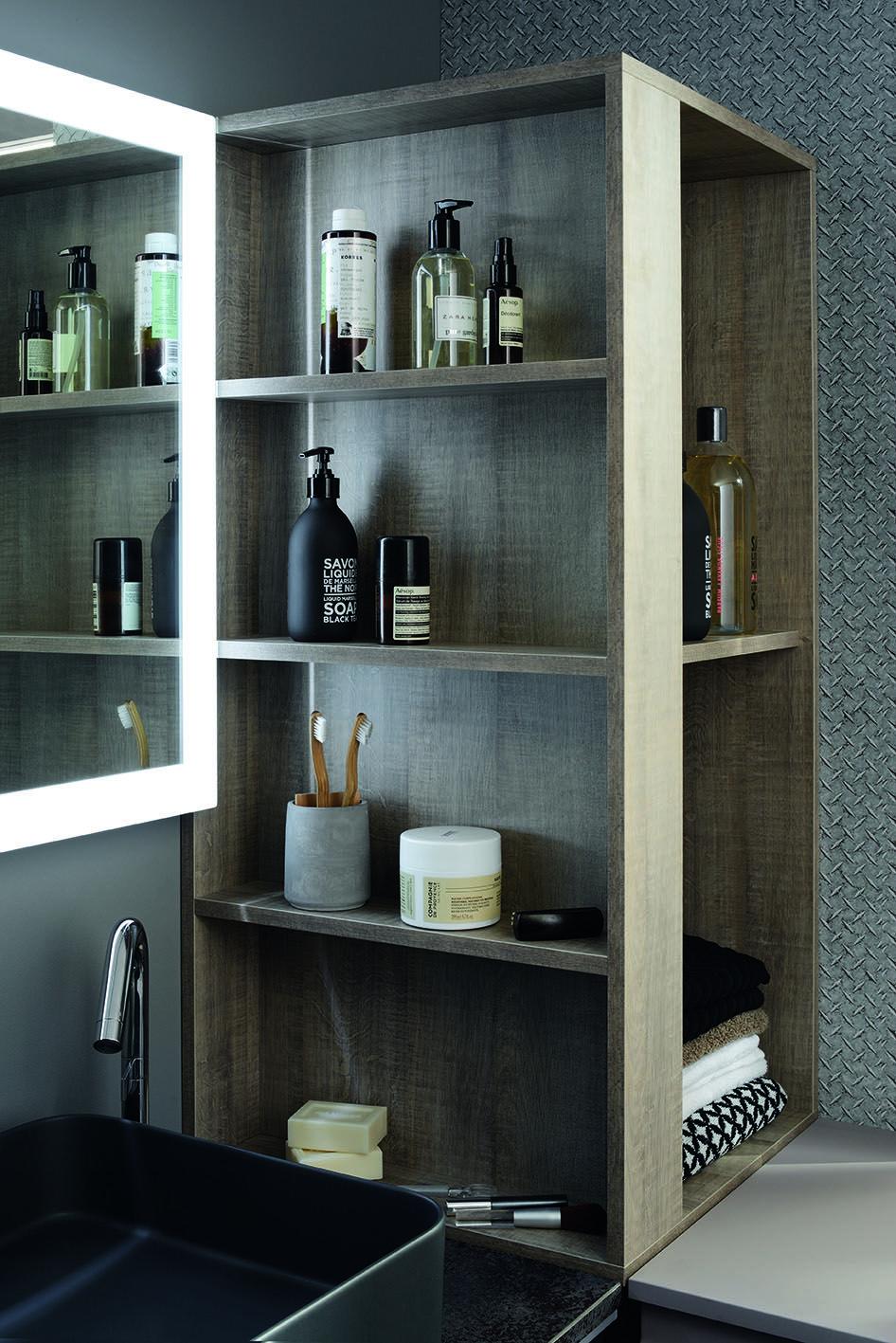 Petite Salle De Bain De Charme ~ une petite salle de bain pratique avec du charme pensez l tag re