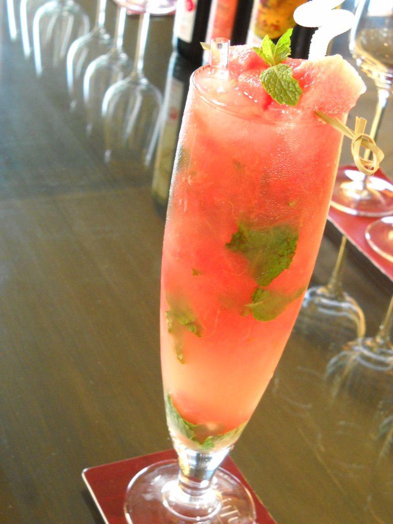 Mocktail - watermelon & mint