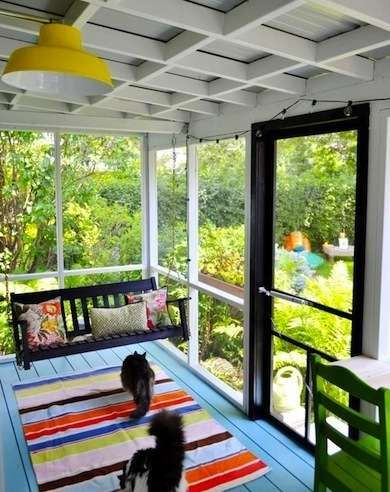 Screen Shots 12 Seductively Serene Screened Porches Home plans