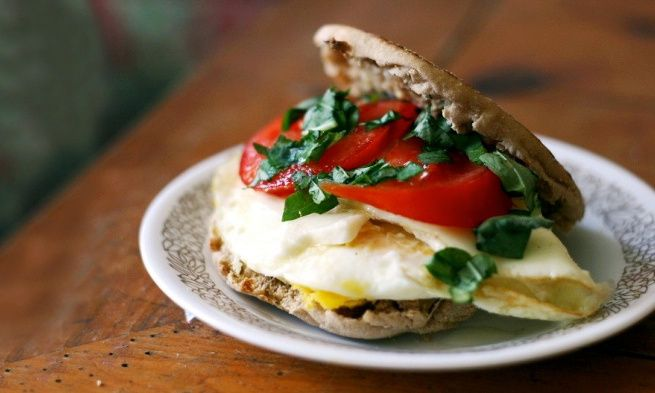 With breakfast still on the brain, we turn to an egg sandwich with a twist, and we find another fabulous 15-minute meal. All of the flavors ...