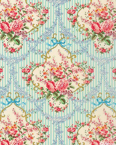 Papel De Parede Vintage WallpapersSignaturePattern