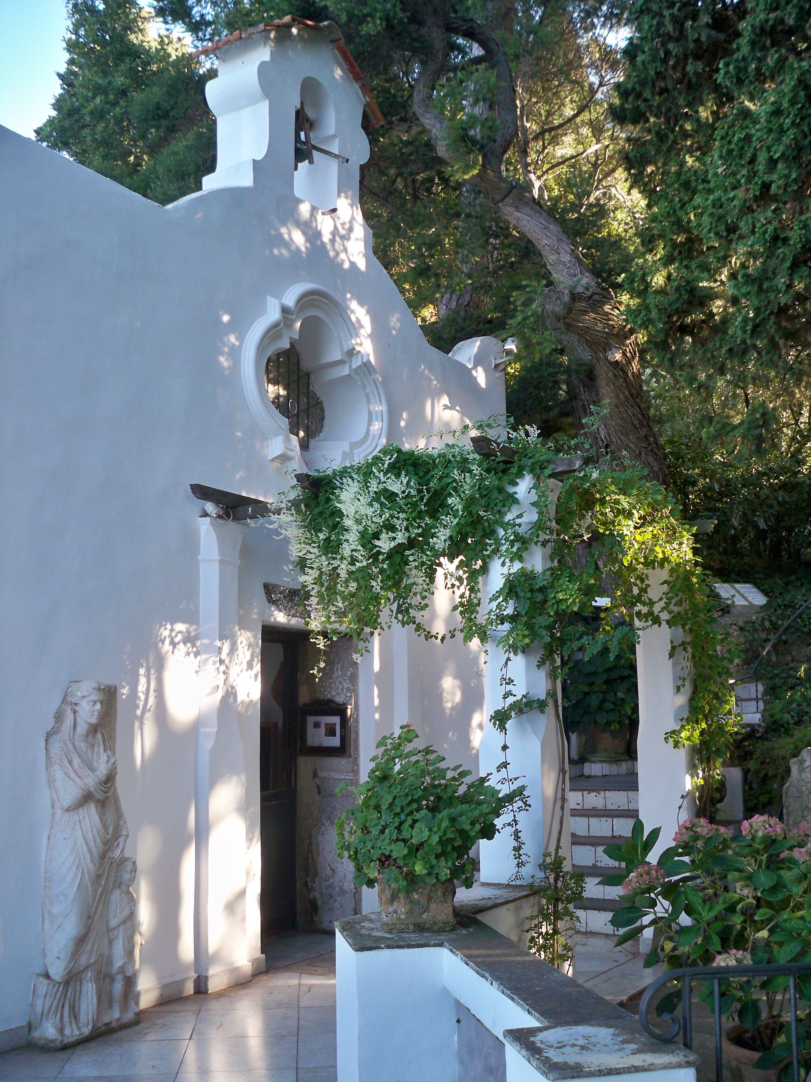 Chapel at Villa San Michele , Anacapri Villa san michele