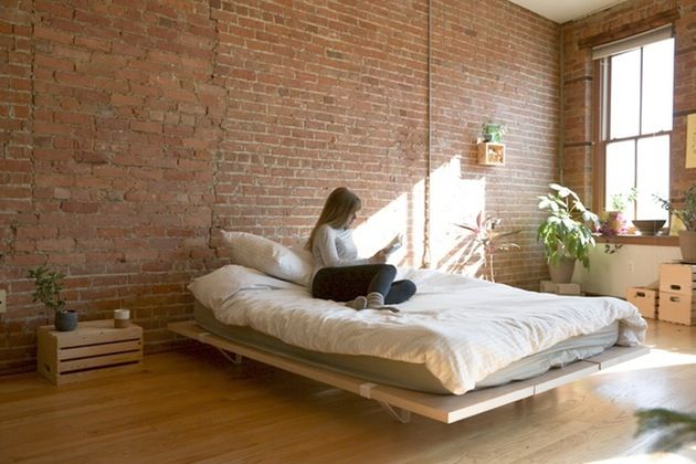 The Floyd Bed Frame Minimal Lightweight Simple To Assemble Bed