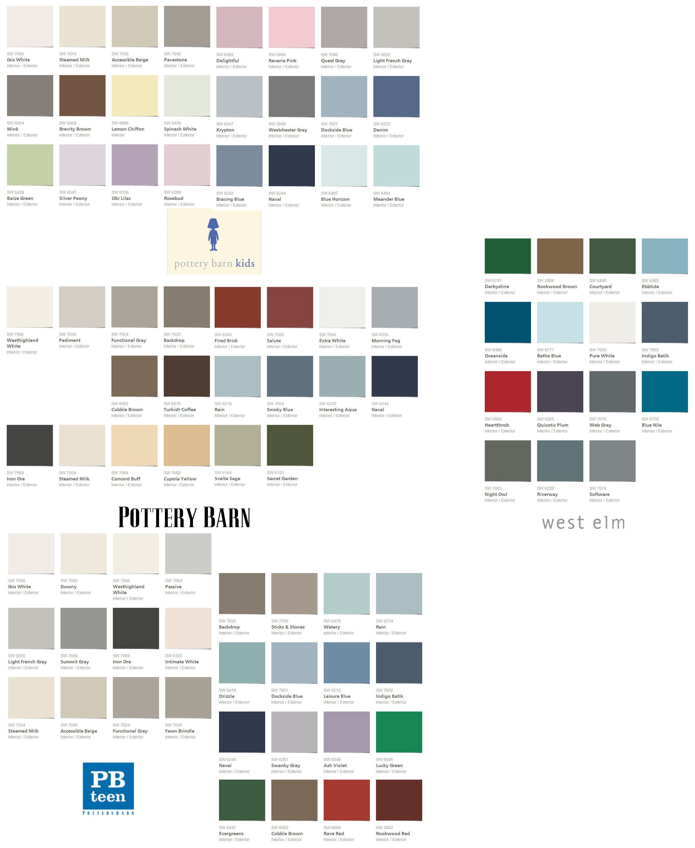 Pottery barn paint colors 2013 - 1000 Images About Colors On Pinterest Pottery Barn Kids Best Gray Paint And Colors