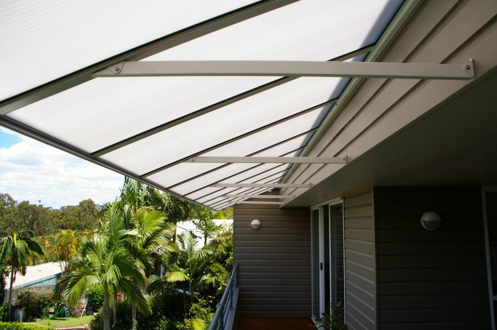 A Polycarbonate Awnings Have Excellent Insulation Properties